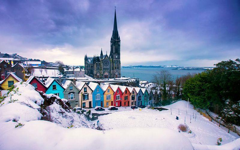 Kết quả hình ảnh cho winter in ireland