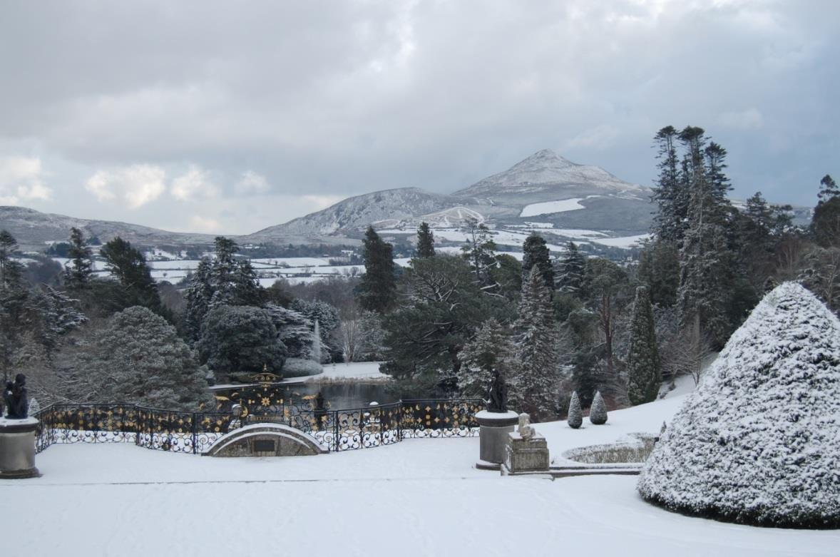Kết quả hình ảnh cho Powerscourt ireland winter